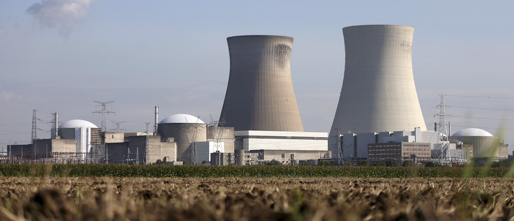 The Doel nuclear plant is pictured in northern Belgium August 20, 2014.
