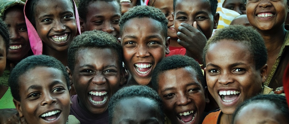 africa children happy population growth
