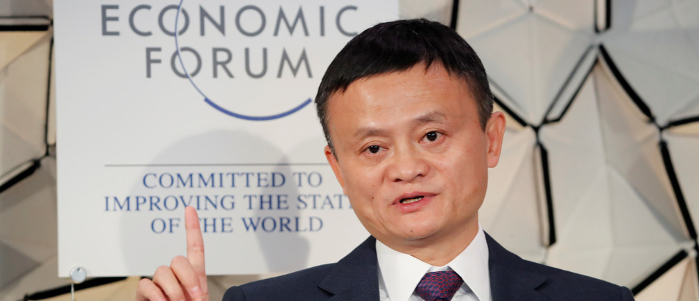 Jack Ma, chairman of Alibaba Group attends the World Economic Forum (WEF) annual meeting in Davos, Switzerland, January 23, 2019. REUTERS/Arnd Wiegmann
