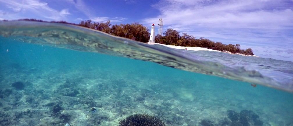 "A piece of coral can be seen in the reef flats in front of the lighthouse on Lady Elliot Island and 80 kilometers north-east from the town of Bundaberg in Queensland, Australia, June 9, 2015. UNESCO World Heritage delegates recently snorkeled on Australia's Great Barrier Reef, thousands of coral reefs, which stretch over 2,000 km off the northeast coast. Surrounded by manta rays, dolphins and reef sharks, their mission was to check the health of the world's largest living ecosystem, which brings in billions of dollars a year in tourism. Some coral has been badly damaged and animal species, including dugong and large green turtles, are threatened. UNESCO will say on Wednesday whether it will place the reef on a list of endangered World Heritage sites, a move the Australian government wants to avoid at all costs, having lobbied hard overseas. Earlier this year, UNESCO said the reef's outlook was ""poor"". Picture taken June 9, 2015.      REUTERS/David Gray - GF10000144602"