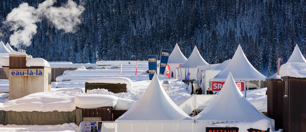 スイス、ダボスで開催された、世界経済フォーラム年次総会2019