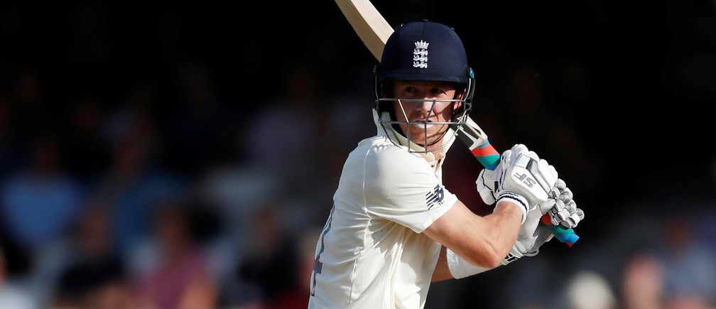 Cricket - Ashes 2019 - Fifth Test - England v Australia - Kia Oval, London, Britain - September 14, 2019  England's Joe Denly in action  Action Images via Reuters/Paul Childs - RC189F227390