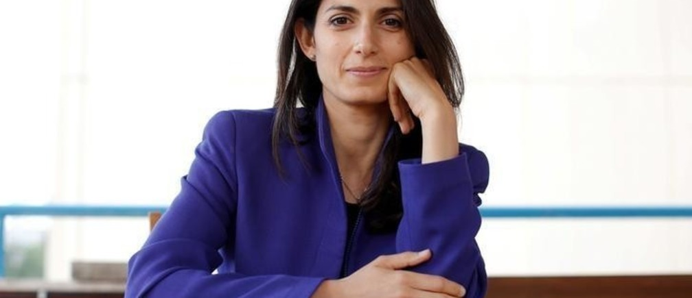 Virginia Raggi, the anti-establishment 5-Star Movement's candidate for Rome mayor, poses during an interview with Reuters in Rome, Italy May 19, 2016. Picture Taken May 19, 2016.