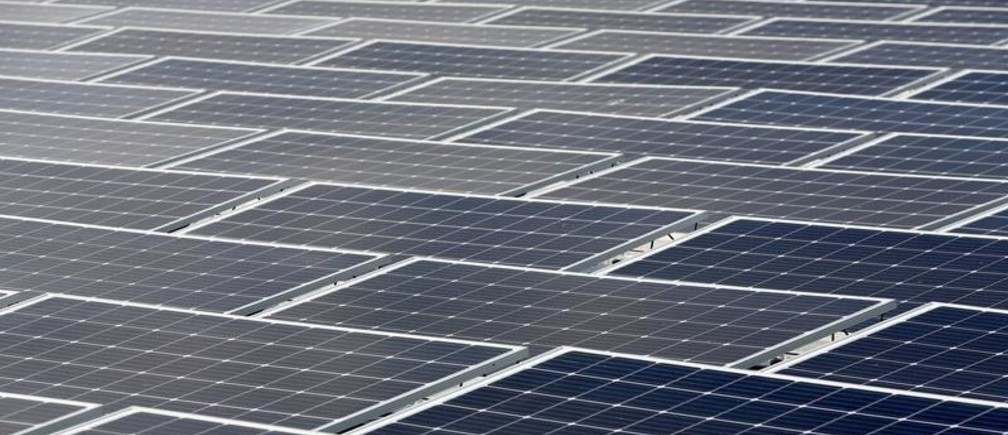General view of floating photovoltaic solar panels during the inauguration of the power plant O'Mega 1 photovoltaic park in Piolenc, France October 18, 2019.  REUTERS/Jean-Paul Pelissier - RC1DB9126980