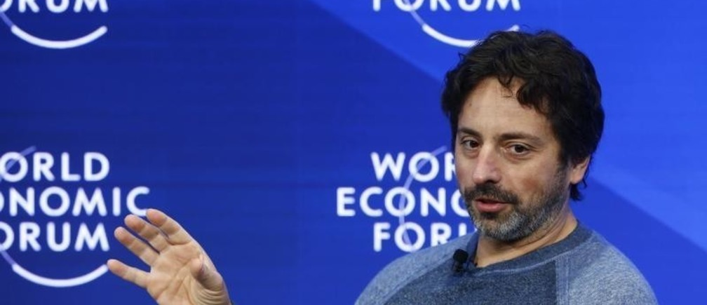 Sergey Brin, Google co-founder and founder of Bayshore Global Management attends the World Economic Forum (WEF) annual meeting in Davos, Switzerland January 19, 2017.  REUTERS/Ruben Sprich