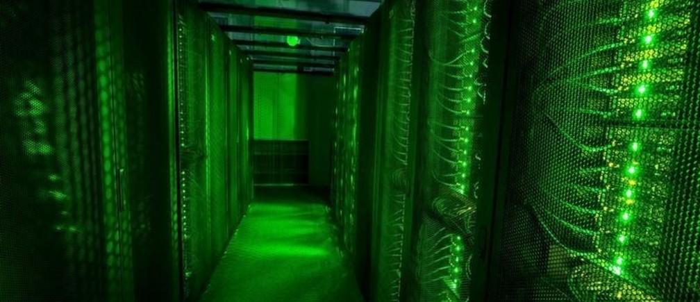 Servers for data storage are seen at Advania's Thor Data Center in Hafnarfjordur, Iceland August 7, 2015.   REUTERS/Sigtryggur Ari/File Photo - S1AETWASLFAA