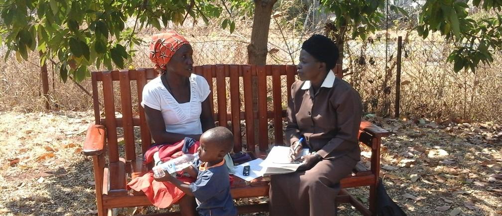 A Zimbabwean Friendship Bench