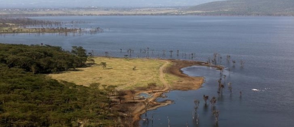 "A view of the national park at Lake Nakuru, Kenya, August 18, 2015. The Park is home to some of the world's most majestic wildlife including lions, rhinos, zebras and flamingos. The scenery is stunning, from forests of acacia trees to animals congregating at the shores to drink. UNESCO says that with rapid population growth nearby, the area is under ""considerable threat from surrounding pressures,"" particularly deforestation, a contributing factor in floods.   REUTERS/Joe PenneyPICTURE 2 OF 31 FOR WIDER IMAGE STORY ""EARTHPRINTS: LAKE NAKURU"" SEARCH ""EARTHPRINTS NAKURU"" FOR ALL IMAGES"