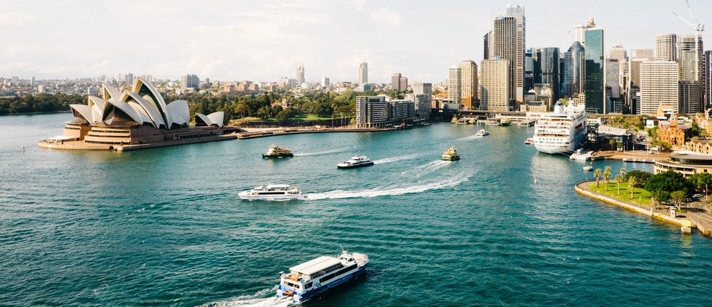 Sydney Harbor. Photo by Dan Freeman on Unsplash.