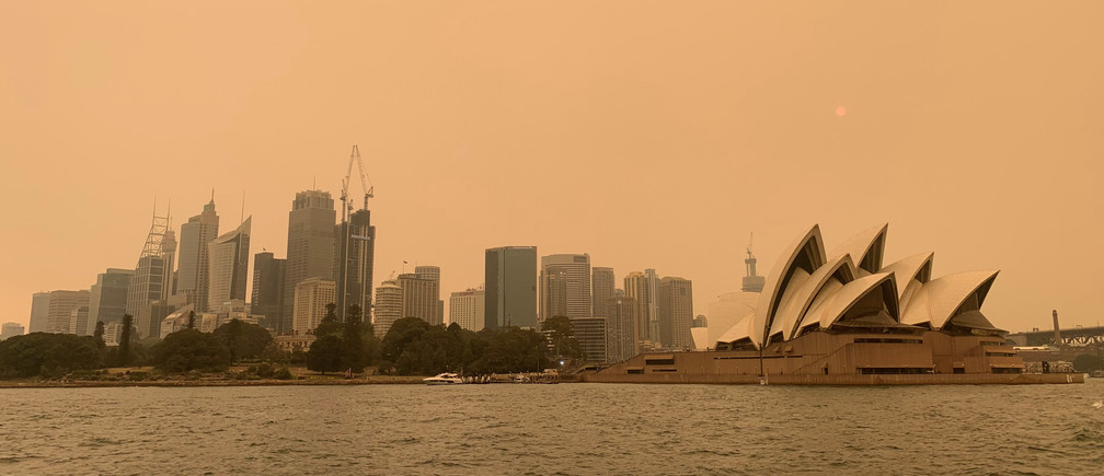 Bushfires climate change Sydney Australia