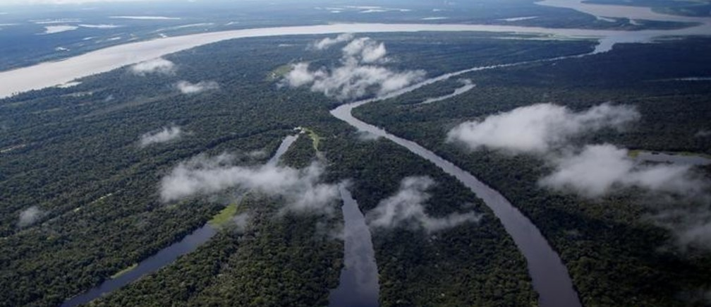 """The Mamiraua Sustainable Development Reserve is seen in Uarini, Amazonas state, Brazil, May 16, 2016. REUTERS/Bruno Kelly     SEARCH """"JAGUARS AMAZON"""" FOR THIS STORY. SEARCH """"WIDER IMAGE"""" FOR ALL STORIES."""
