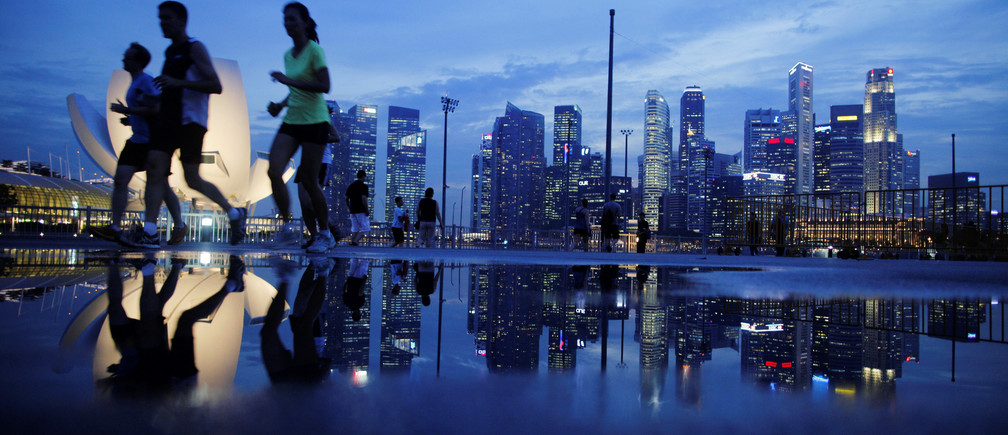 Once-impoverished Singapore is now one of the wealthiest per capita nations in the world