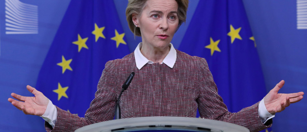 President of the European Commission Ursula von der Leyen.