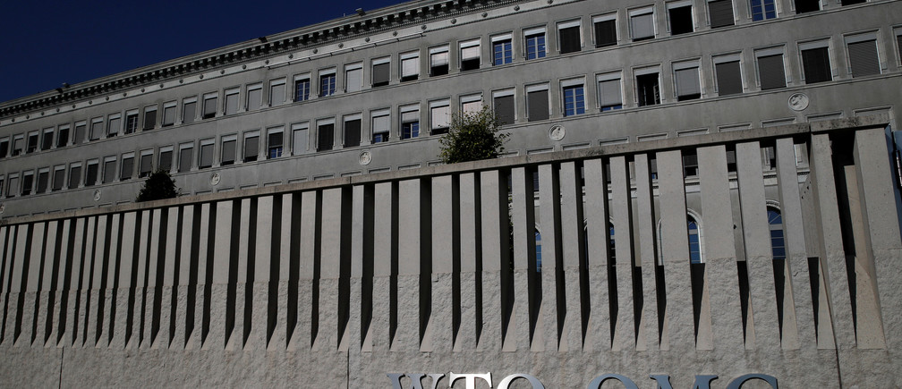 The World Trade Organization (WTO) headquarters are pictured in Geneva, Switzerland, July 26, 2018.