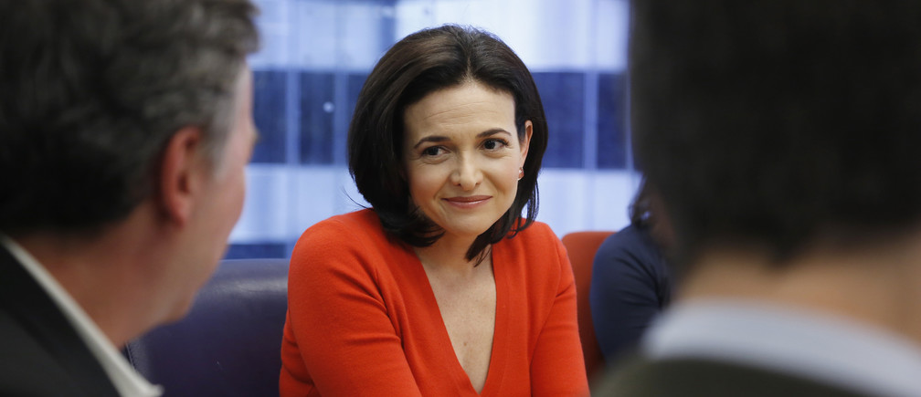 Sheryl Sandberg, chief operating officer of Facebook, speaks during Reuters Global Technology Summit in San Francisco, June 19, 2013. REUTERS/Stephen Lam (UNITED STATES - Tags: BUSINESS SCIENCE TECHNOLOGY) - GM1E96K0GGE01