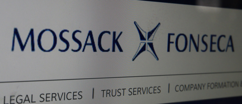 The website of the Mossack Fonseca law firm is pictured in this illustration taken April 4, 2016