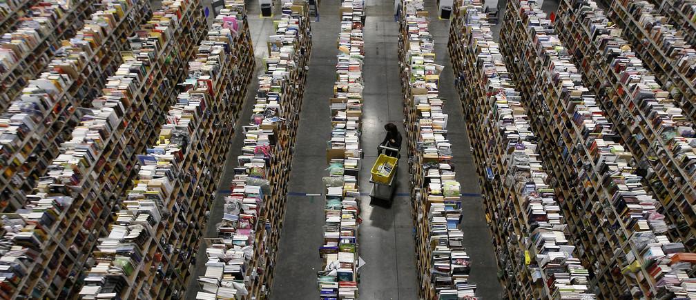 An Amazon distribution center in Phoenix, Arizona.
