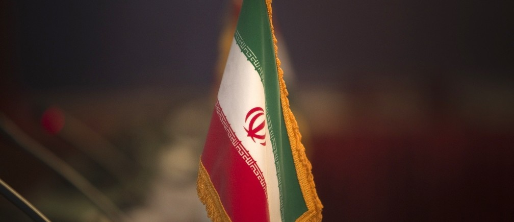 The Iranian flag is pictured before the opening of the 32nd Meeting of the Ministers of Foreign Affairs of G-15, at a Foreign ministry building in northern Tehran May 15, 2010. REUTERS/Morteza Nikoubazl