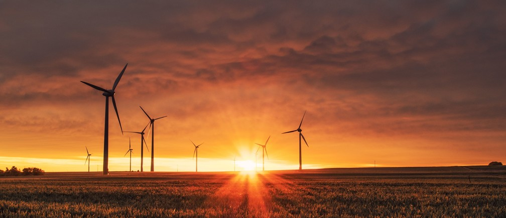 green finance blackrock bloomberg larry fink climate change environment nature solar wind farm investment private