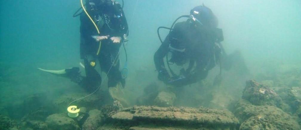 Underwater microbe 'cities' off Zakynthos