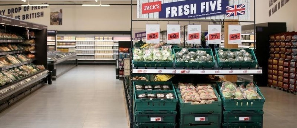 Products are displayed at Tesco's new discount supermarket Jack's, in Chatteris, Britain, September 19, 2018.
