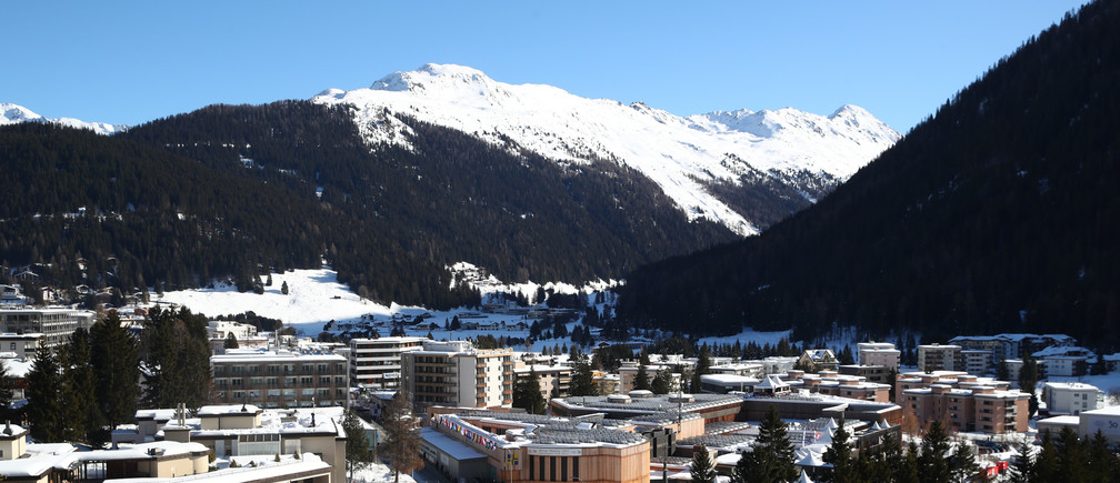 General view of the Davos Congress Centre, where the 50th World Economic Forum (WEF) annual meeting takes place, in Davos, Switzerland January 23, 2020. REUTERS/Denis Balibouse - RC2PLE9LKH4F
