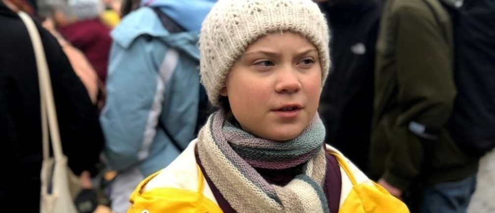 Swedish 16-year-old environmental activist Greta Thunberg attends a protest next to Sweden's parliament in Stockholm, Sweden March 8, 2019. Picture taken March 8, 2019. REUTERS/Ilze Filks - RC1C4F3D24C0