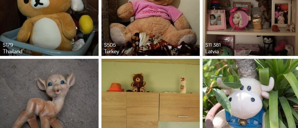 The wealth gap, in toys: images from Dollar Street, with monthly incomes