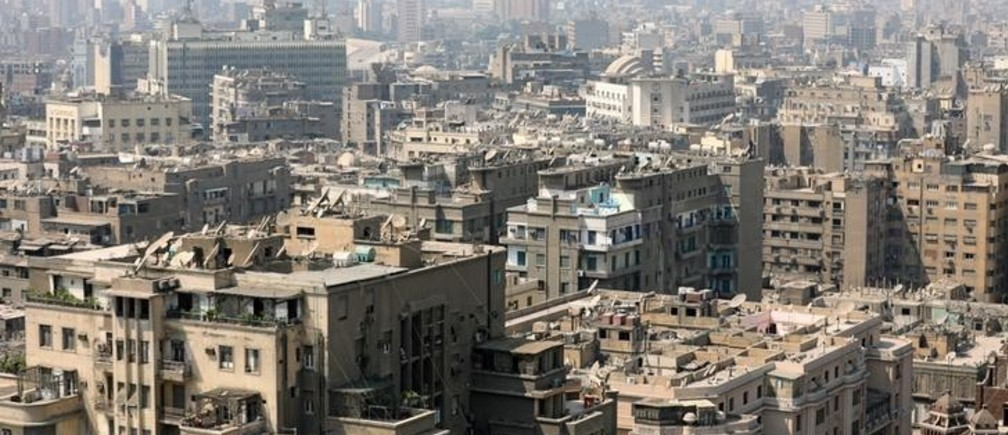 A general view of clustered buildings in Cairo, Egypt August 30, 2017. REUTERS/Mohamed Abd El Ghany