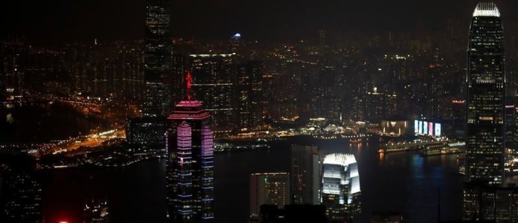 An evening view of the city of Hong Kong, China, October 18, 2019. REUTERS/Umit Bektas - RC1CB17B27B0