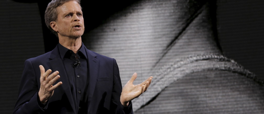 Nike CEO Mark Parker, who chose to feature activist athlete Colin Kaepernick in the company's advertisements.