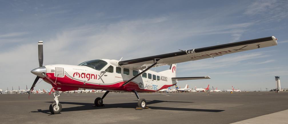 MaginX electric plane.