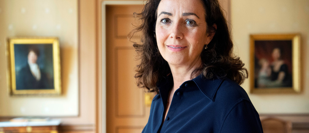 Mayor of Amsterdam Femke Halsema poses for a portrait in Amsterdam, Netherlands June 26, 2019. Picture taken June 26, 2019. REUTERS/Piroschka van de Wouw - RC166E46FF90