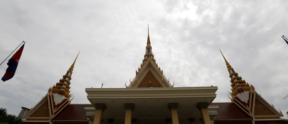 A general view of the National Assembly of Cambodia is seen in central Phnom Penh, October 7, 2016. REUTERS/Samrang Pring - RTSR5NU