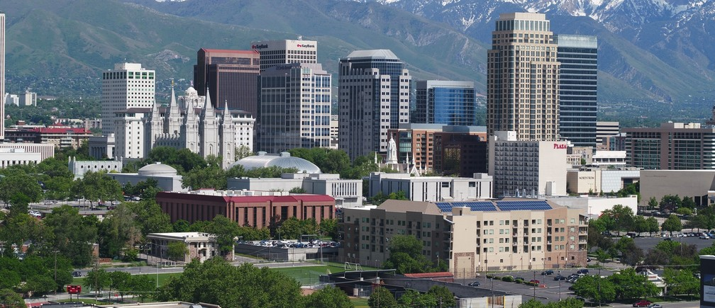 Workers are attracted by the low cost of living to Salt Lake City, Utah