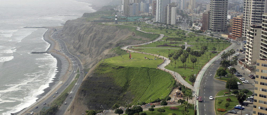 By 2050, 90% of Latin Americans will live in cities, such as Peru's capital Lima