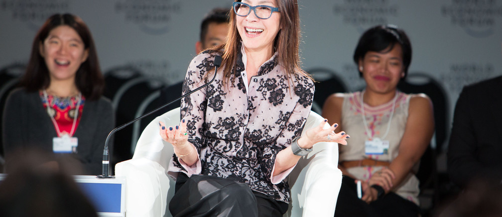 Michelle Yeoh, Actress, Malaysia captured at the World Economic Forum on ASEAN in Kuala Lumpur, Malaysia, June 2, 2016.