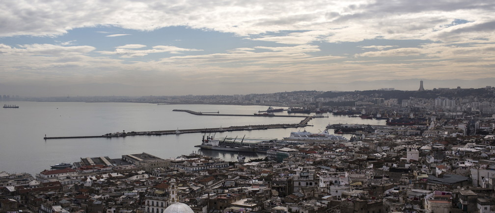 Algeria's capital, Algiers.