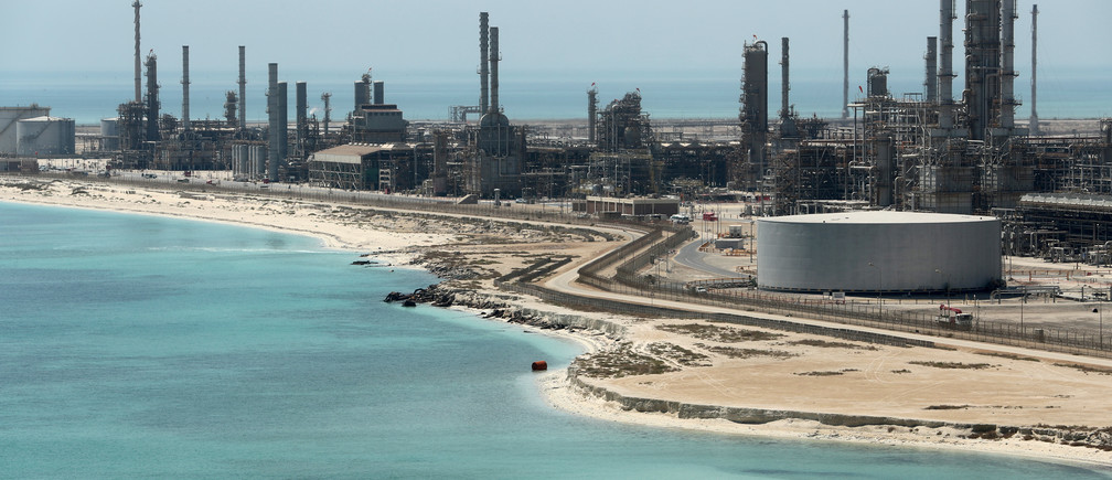 General view of Saudi Aramco's Ras Tanura oil refinery and oil terminal in Saudi Arabia May 21, 2018