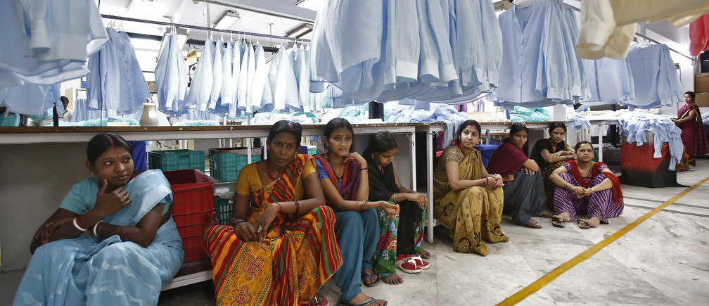women's day gender gap textile workers