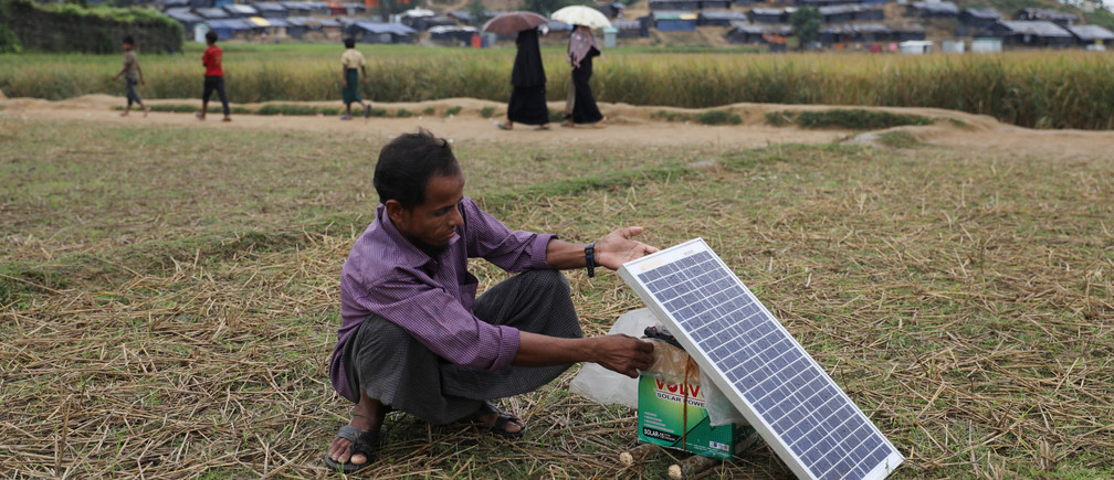 Bangladesh has adopted the strongest declaration of climate action - a target to use 100% renewable energy by 2050