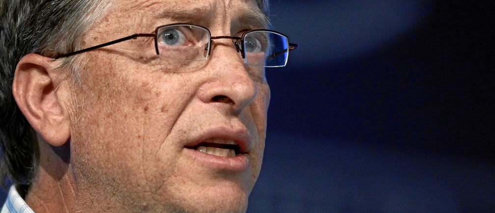 Bill Gates à la Réunion Annuelle du Forum Économique Mondial en 2011.