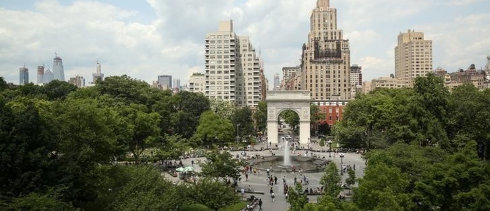 A general view of Washington Square Park in Manhattan, New York, U.S., June 8, 2018. REUTERS/Amr Alfiky