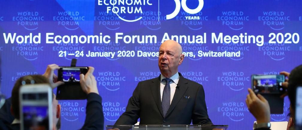 Le Forum Économique Mondial demande à tous les participants de Davos de se fixer pour objectif d'atteindre la neutralité carbone