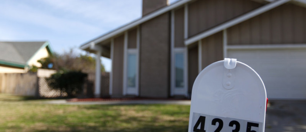 A rental home owned by Blackstone is shown in Riverside, California January 23, 2014.