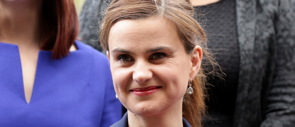 Batley and Spen MP Jo Cox is seen in Westminster May 12, 2015.