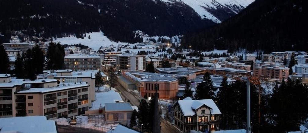 A general view shows the congress centre, the venue of the World Economic Forum (WEF) in Davos, Switzerland January 13, 2020.