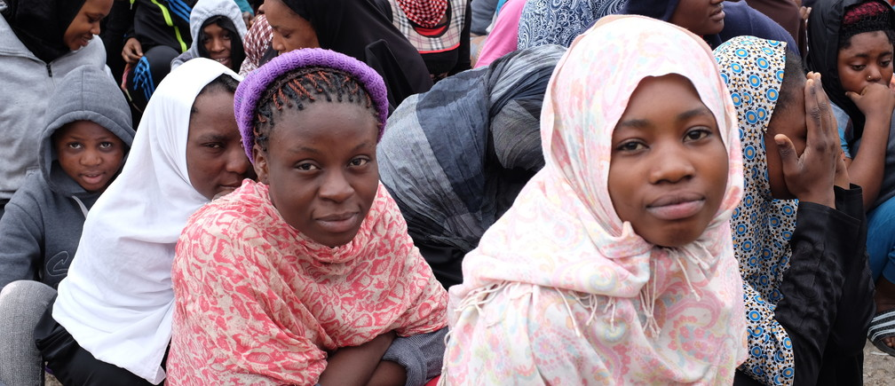 African migrants in Libya.