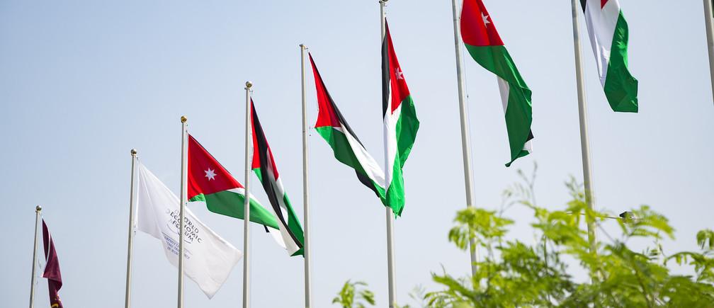 Venue Shots from the King Hussein Bin Talal Convention Centre before World Economic Forum on the MENA Region, Jordan 2019. Copyright by World Economic Forum / Benedikt von Loebell