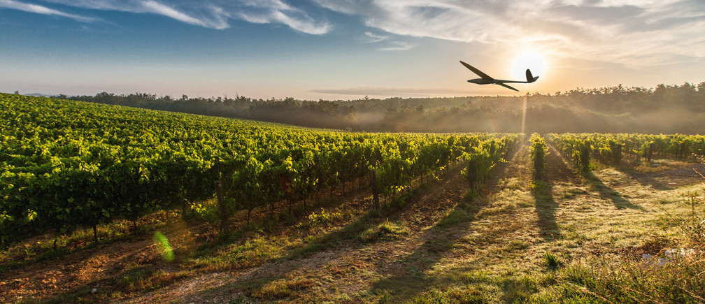 Drones can be used to spray pesticide while diagnosing plant healthThe long-range capabilities of drones are a key to enabling precision agriculture that helps manage crop rotation; improve yields; spot diseases, insect infestation and other threats; and perform preventative maintenance such as pesticide deployment.